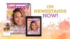Queen Latifah Lights Up the Cover of Live Happy's May Issue!