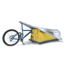 Topeak Bikamper One-Person Bicycling Tent - Sleep comfortably on long bike trips with the Topeak Bikamper one-person bicycling tent.