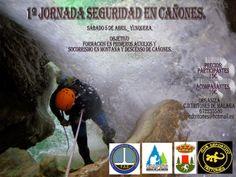 Espeleo Club de Descenso de Cañones (EC/DC): I Jornada Seguridad en Cañones (5 abril, Yunquera)...
