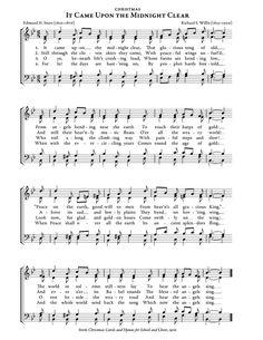Printable Christmas Carol Lyrics sheet Feliz Navidad