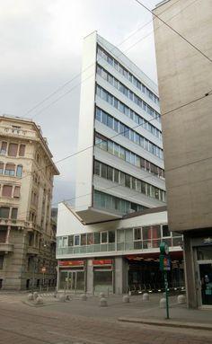 Corso Italia Housing, Luigi Moretti | Milan | Italy | MIMOA