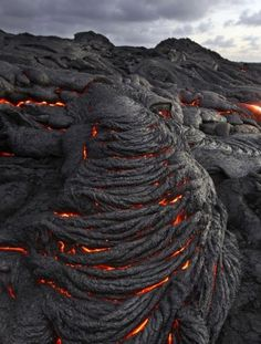 Pahoehoe? I love that word....