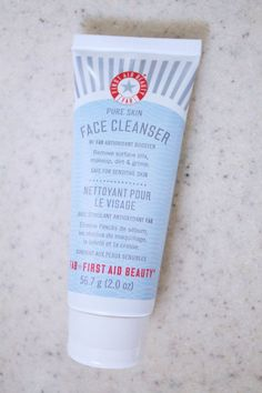 First Aid Beauty's Face Cleanser can be used by ALL skin types.