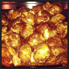 Monkey Bread- sooooo good! Perfect for a morning gathering. I like these for Christmas, New Years Day, and Easter morning!