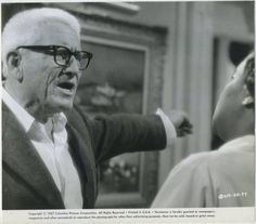 """Vintage still photo pictures Spencer Tracy in """"Guess Who's Coming to Dinner"""" (1967)."""