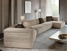 Nella Vetrina Rugiano Freud Sectional Sofa In Suede Luxury Sofa, Italian Furniture Modern, Upholstered Sofa, Furniture, Sectional Sofa, Sofa Furniture, Best Sofa, Luxury Italian Furniture, Living Room Furniture