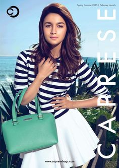 Alia Bhatt Ad for Caprese Spring Summer 2015