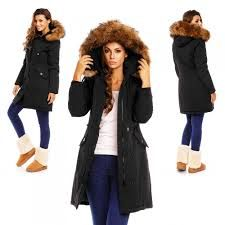 Lange Winterjas Zwart.Pinterest