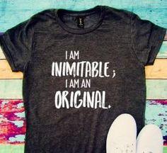 I am inimitable I am an original Hamilton ShirtAlexander
