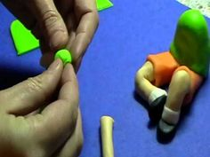 video demo, how to make a child, sitting