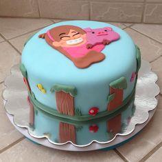 Gravity Falls cake by www.amberslittlecupcakery.com  www.facebook.com/amberslittlecupcakery