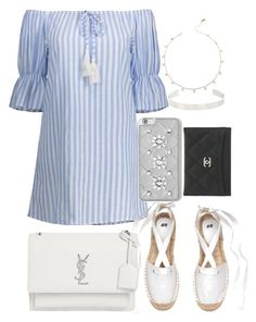 """Untitled #70"" by franciscanunes ❤ liked on Polyvore featuring Yves Saint Laurent, MICHAEL Michael Kors, Jennifer Fisher and Chanel"
