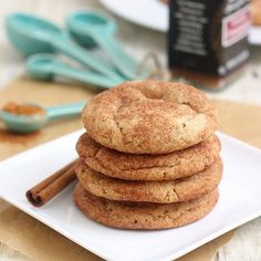 Brown Butter Snickerdoodles By Tracey's Culinary Adventures