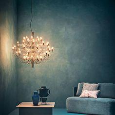 Flos, Gino Sarfatti, chandelier 2097