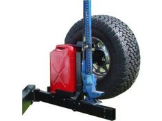 Tomken Jerry Can / Hi-Lift mount for 84-98 Jeep® Cherokee XJ & ZJ - Acme Jeep Parts