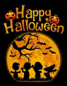 Charlie Brown Halloween, Peanuts Halloween, Halloween Eve, Halloween Artwork, Happy Halloween, Halloween Ideas, Meu Amigo Charlie Brown, Charlie Brown And Snoopy, Snoopy Images