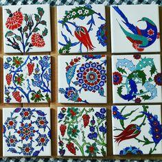 Porselen çalışmalarım 2015  Semra Yahya