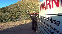 AREA 51-CAMO SNIPER REVEALED??-Secret HIDDEN Back Gate!!!
