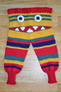 Ida Amalies Hobbykrok: Monsterbukse med haitenner. Baby Barn, Crochet Projects, Knit Crochet, Knitting, Swimwear, Fashion, Bebe, Threading, Bathing Suits