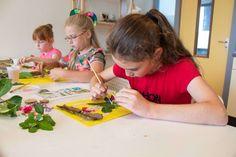 knutsels, knutselen, creatief, zomer, natuur, kinderen, workshops, kinderfeestjes, Atelier