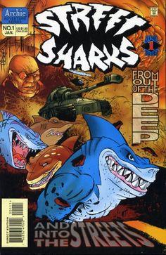 Le migliori immagini su street sharks del squali arte
