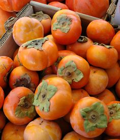 Great time for Fuyu Persimmons - love them in all guises. They are truly delicious in salads!