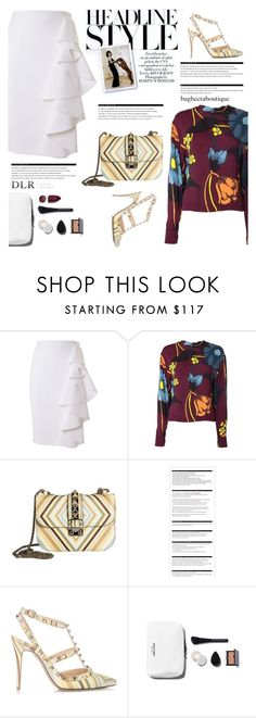 """Luxury"" by purpleagony ❤ liked on Polyvore featuring Moschino, Marni, Valentino, Arche, NARS Cosmetics, WorkWear, feminine, luxury, dlrboutique and bagheeraboutique"