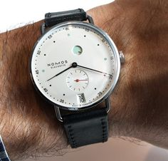 Nomos is a small German brand that is hell-bent on doing things their own way. With a new design and an in-house assortment called the Nomos Swing System, the Nomos Metro represents the latest stage in the evolution of this small but feisty German brand...