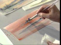 Northern Exposure using Watercolors by Susan Scheewe