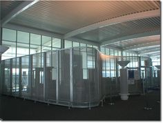 St David architectural mesh security screening at Berth Cruise Terminal, Southampton. Security Screen, Wire Mesh, Southampton, Screens, St David, Cruise, Architecture, Outdoor Decor, Projects