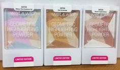 Wet n Wild Limited Edition Spring 2016 Spring into the Wild Collection (with Reader Swatches) | Geometric Highlighting Powders - Where the Dreamers Go, Sun Ceremony, Desert Explorations | Nouveau Cheap