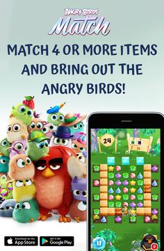 Play the new Angry Birds Game for free! Match items and help the Hatchlings to stop the pigs from ruining their party!