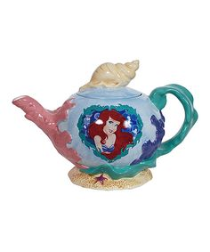 Look what I found on #zulily! Little Mermaid Pearl of the Sea Teapot by Disney Princess #zulilyfinds