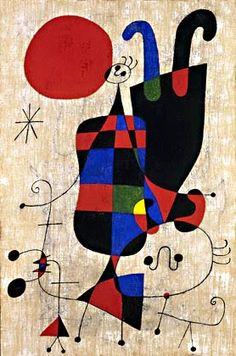 Pintores famosos: Miró para niños. Cuadros para colorear, cuentos, puzzles, imitación de obras, ideas para carnaval...
