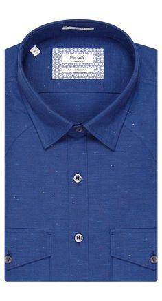 Shirt Dark Blue - Van Gils herenmode