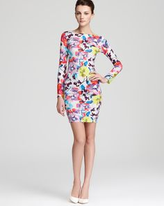 Alice + Olivia Dress - Tabitha Floral Print Fitted | Bloomingdale's#fn=spp%3D13%26ppp%3D96%26sp%3D1%26rid%3D52