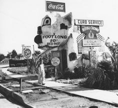 vintage everyday: Black & White Photos of Los Angeles in the 1940s