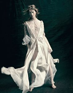 Paolo Roversi for Vogue Italia March 2016 Couture Supplement - Valentino