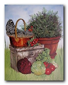 This beautiful piece of wall art will surely brighten up any room or country kitchen and it will be a great gift for the chicken collector. It will enhance the style of your home decor will be a great addition to your décor. It will be a very easy to hang and maintain. It also ensures high quality product with perfect color accuracy.