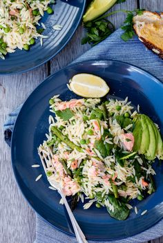 Spring Salmon, Asparagus, and Risoni Salad | 21 Spring Salads That Don't Suck