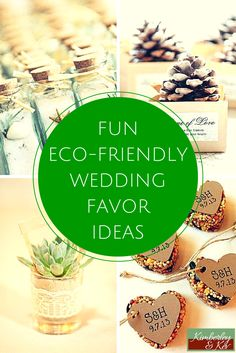 If you are having an eco-friendly wedding, do not despair. There are plenty of eco-friendly wedding favors to choose from that are as environmentally safe as they are fun.   - See more at: http://www.kimberleyandkev.com/fun-eco-friendly-wedding-favor-ideas/#sthash.Ilxis5v5.dpuf