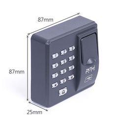 Digital Electric RFID Reader Finger Scanner Code System Biometric Fingerprint Access Control for Door Lock Home Security System
