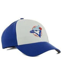 47 Brand Toronto Blue Jays Mvp Curved Cap - White Adjustable 613b4a275366