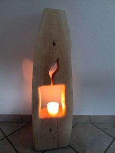 Nr.9 Baumstamm Kiefer 98cmx23cmx19cm Deko Säule Holz Holzsäule Windlicht repinned by www.landfrauenverband-wh.de #landfrauen #landfrauen wü-ho