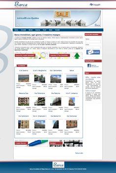 Sito web di vetrina immobiliare per Barca Immobiliare Affiliato Grimaldi Messina - HomePage - Realizzato con Joomla 2.5, K2 e JEA - Anno 2013
