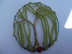 weeping_willow_tree  A beautiful hand made by me weeping willow tree. Comes with bag clip. I love making trees. If you would like one made for you just pop me a message va facebook. Link below.   https://www.facebook.com/Theshinyzone