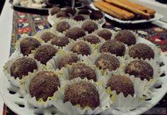 Gesztenyegolyó Nagymama receptjeitől Antipasto, Dessert Recipes, Desserts, Nutella, Raspberry, Recipies, Muffin, Food And Drink, Gluten Free