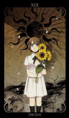 Kohsuke, GANGSTA., Nina (Gangsta.), The Sun, Yellow Flower, Tarot Cards