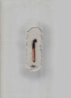 Massimo Capogna - Artist: La morte.Acquerello ripassato con penne bic color...