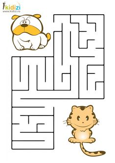 Plansa educativa labirint 10 Cutting Activities For Kids, Activity Sheets For Kids, Mazes For Kids, Preschool Activities, Sudoku, Printable Mazes, I Spy Games, First Grade Reading, Kids Corner
